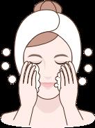 detergere con prodotti exuviance